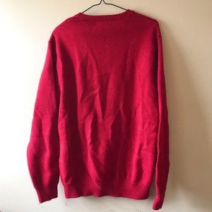 Chaps Sweaters - Chaps Red Knit Sweater - M